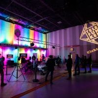 Custom soundstage at Telefunken HQ in Connecticut serves as venue for education, discussion and demonstrations.